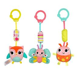 Bright Starts Chime Along Friends Take-Along Toys--Character