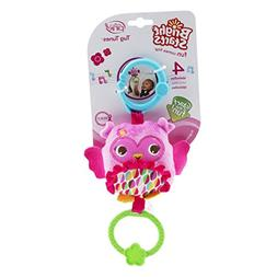 Bright Starts Tug Tunes Take-Along Toy, Pretty in Pink