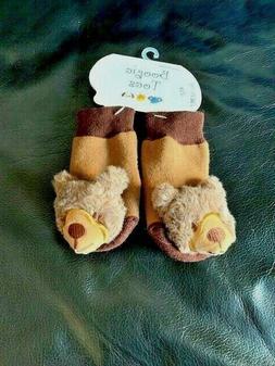 Infant Baby Socks Rattle Toys  Bear&Foot Socks 0~1 Boogie To