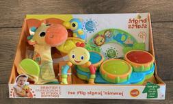 Bright Starts Jammin' Jungle Gift Set, 0 months+, baby toys