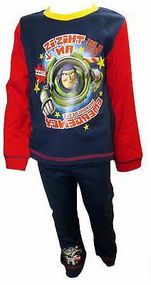 Toy Story Buzz Lightyear InterGalactic Boy's Pyjamas 1- 5 Ye