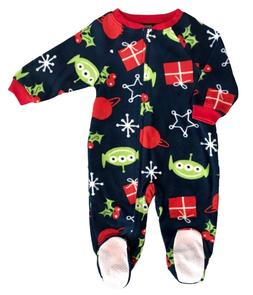 Disney Toy Story Alien Holiday Jammies Families Toddler Flee